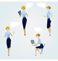 Office gals 01 vector