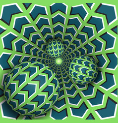 Optical three balls are moving in vector