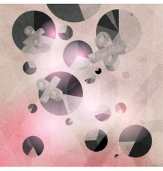abstract texture geometric background vector image