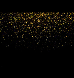 shiny star burst light with gold luxury sparkles vector image vector image