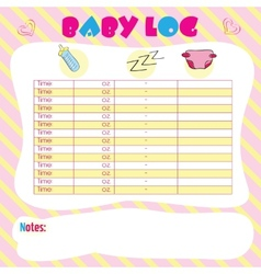 Baby log vector