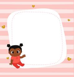bashower invitation card bashower vector image