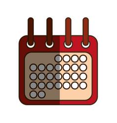 Calendar draw sign vector