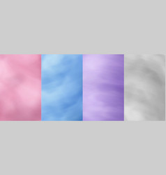 cotton candy textures sweet sugar floss pink vector image