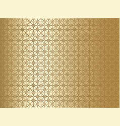 gold patterned background vector image
