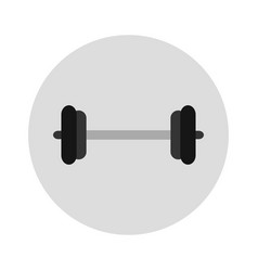 gym weights icon vector image