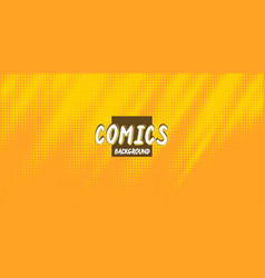 retro background with a comics style monochrome vector image
