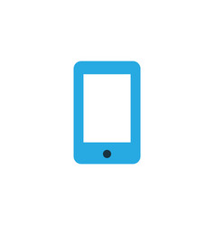 smartphone colorful icon symbol premium quality vector image