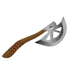 throwing axe vector image