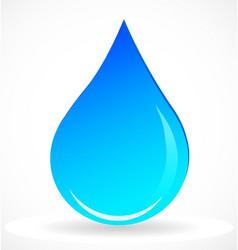 Water rain drop icon vector