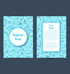 card template with place for text and vector image vector image