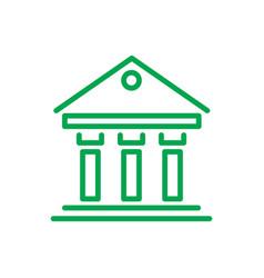 greek building inforgaphic vector image