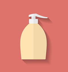 Icon of Liquid Soap Flat style vector image vector image