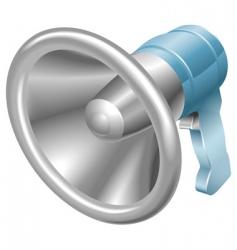 megaphone vector image vector image