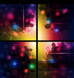 abstract technology backgrounds vector image vector image