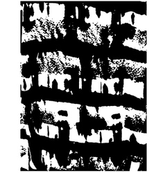grunge ink texture vector image