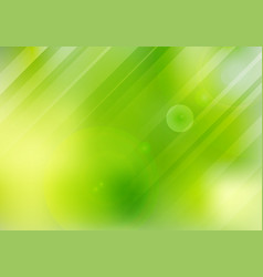abstract green nature blurred background with vector image
