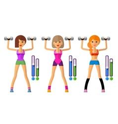 Fitness logo design template sport vector