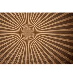 Grunge sun rays vector image