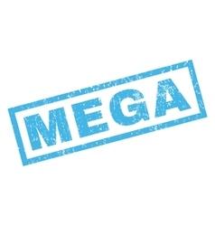 Mega Rubber Stamp vector