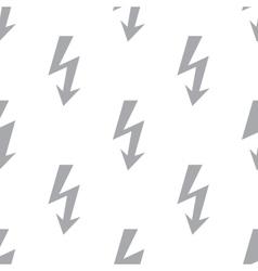 New Lightning seamless pattern vector image