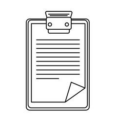 report table icon vector image