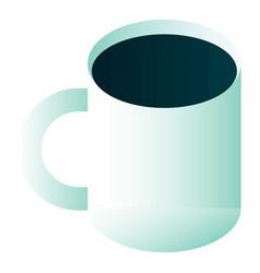 tea mug icon isometric style vector image