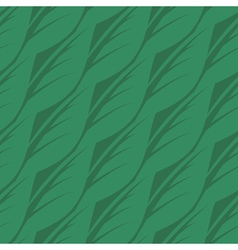 Abstract seamless pattern of leaves vector image