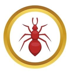 Ant icon vector image