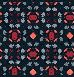 Boho style ornament - seamless pattern vector