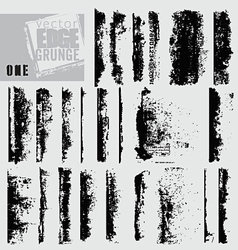 Edge grunge one vector