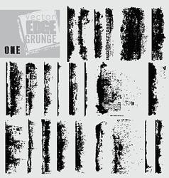 Edge grunge one vector