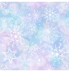 Gentle christmas pattern vector