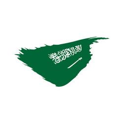 saudi arabia flag vector image