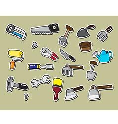 Sticker tool vector