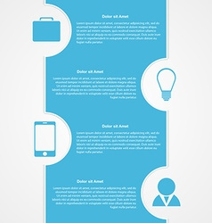 Abstract infographic Modern design template vector image vector image