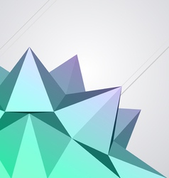 abstract modern shape vector image