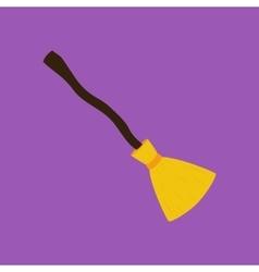 Broom vector image vector image