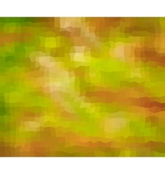 Abstract geometric background in green and orange vector