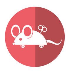 April fools day mouse surprise shado vector