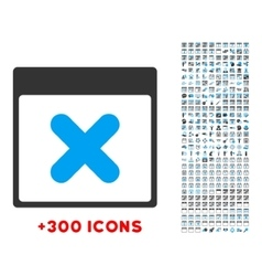 Cancel Day Icon vector