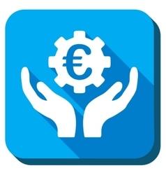 Euro Maintenance Icon vector