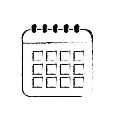 Figure calendar data to organizer important things vector
