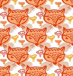 Fox pattern6 vector