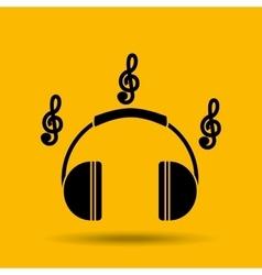Sound system design vector