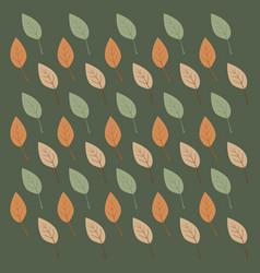Tree leafs vector