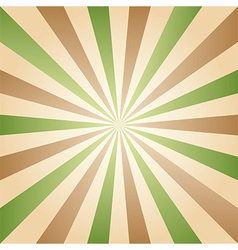 Vintage abstract background explosion rays vector