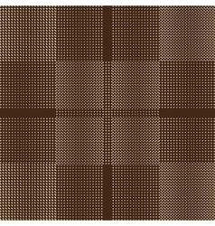Seamless Abstract Circles And Squares vector image