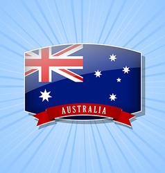Australian icon vector image vector image