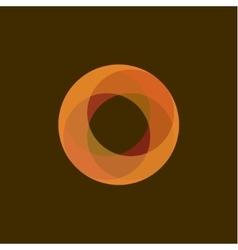 Fireball Abstract for business logo vector image